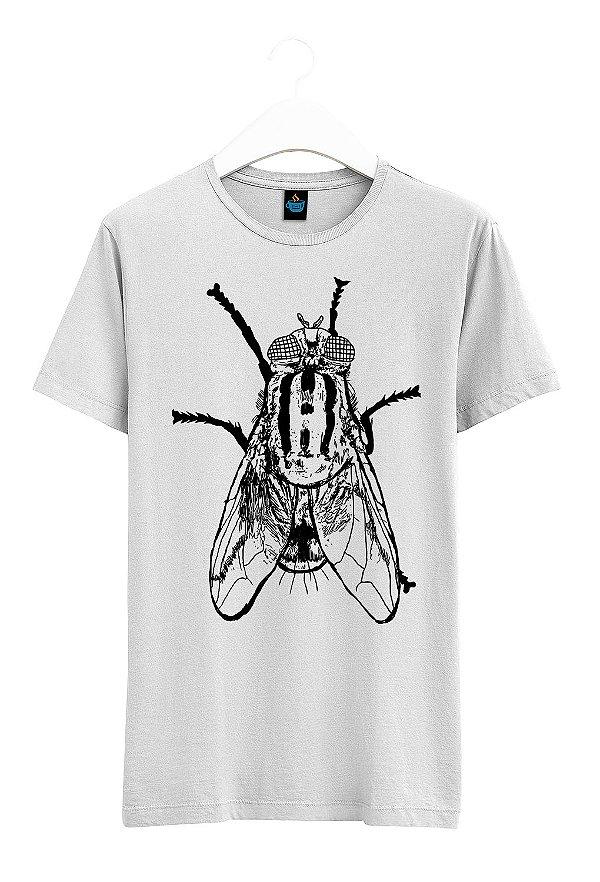 Camiseta Estampada Mosca