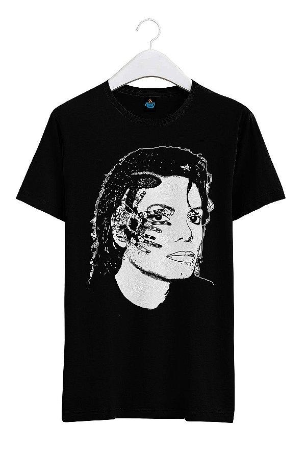 Camiseta Estampada Michael Jackson