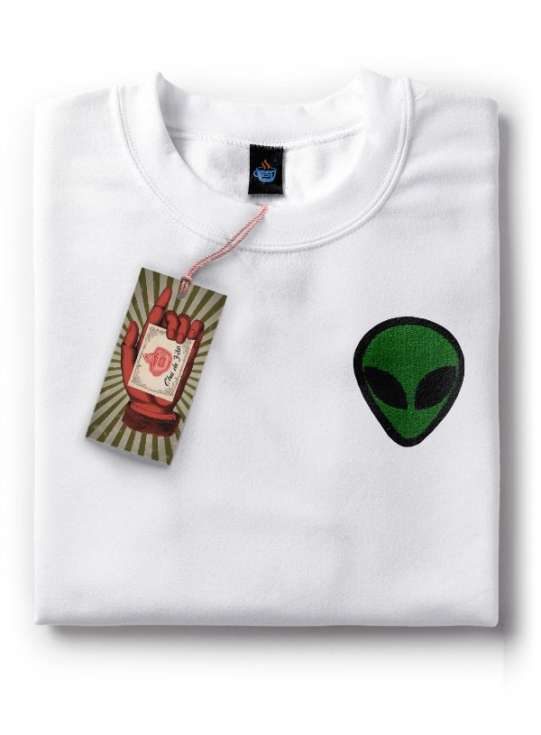 Camiseta Bordada ET