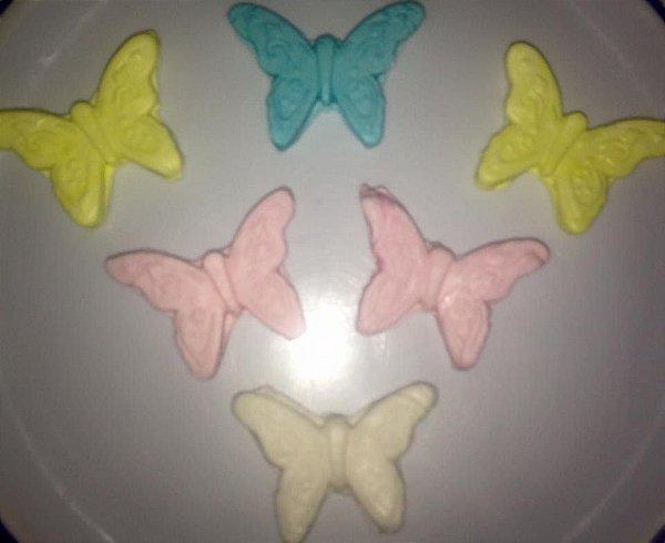 Bala de coco de borboleta