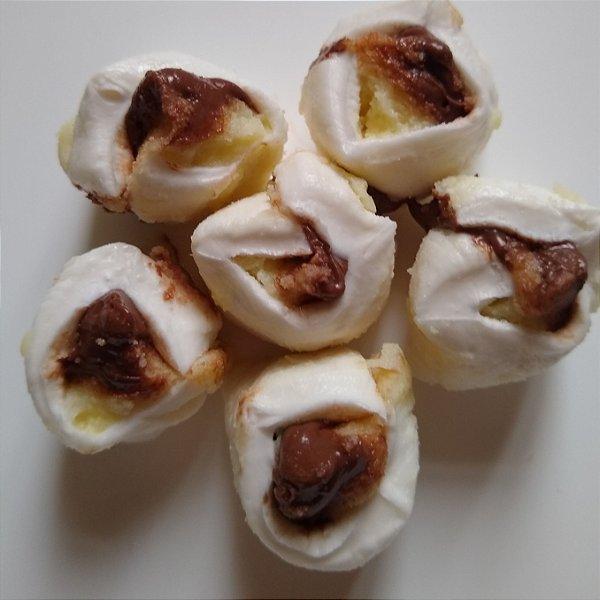 1/2 kg Tradicional com recheio de leite ninho com Nutella