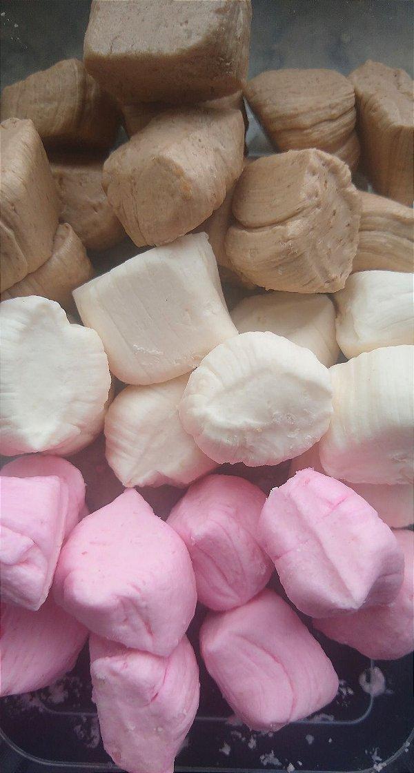1/2 kg Napolitana tradicional, tradicional de chocolate e tradicional de morango