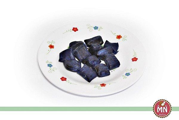 Bala de Coco Tradicional Azul Marinho