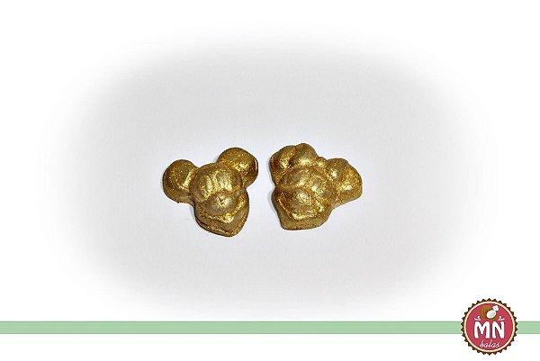 Bala de coco da Mickey e Minnie Dourados