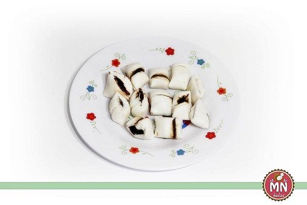Tradicional com Recheio de Chocolate Amargo