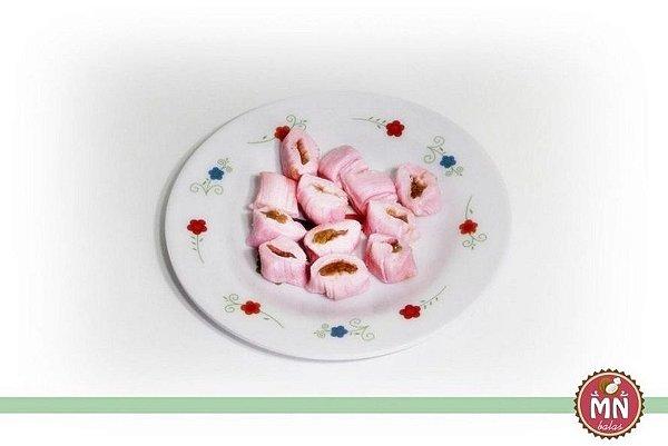 1/2 kg Tradicional de Morango com recheio de Brigadeiro chocolate