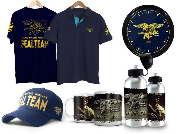 Kit Militar Navy Seals Exclusivo Team Six