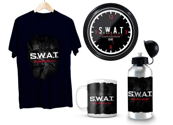 Kit Militar SWAT exclusivo