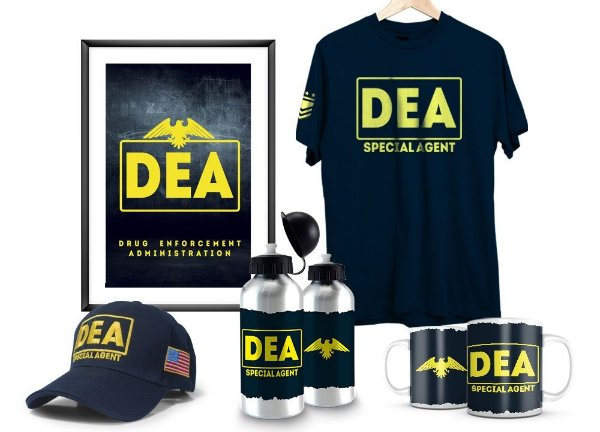Kit Militar DEA Exclusivo Team Six