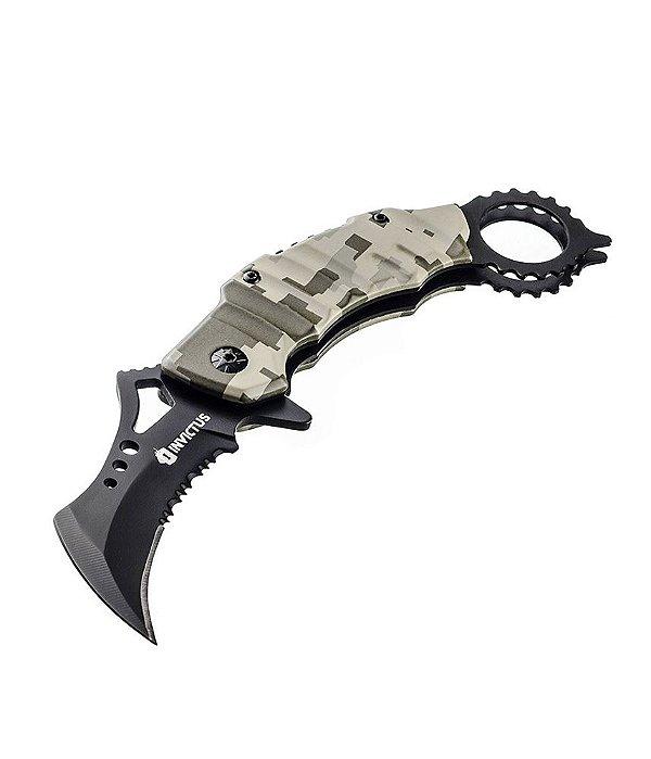 Canivete Militar Tático Invictus Soldier