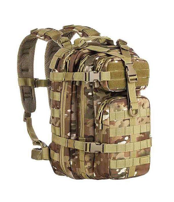 Mochila Militar Tática Assault Camuflado Multicam Invictus