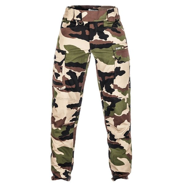 Calça Militar Tática Combat Camuflado Francês Invictus