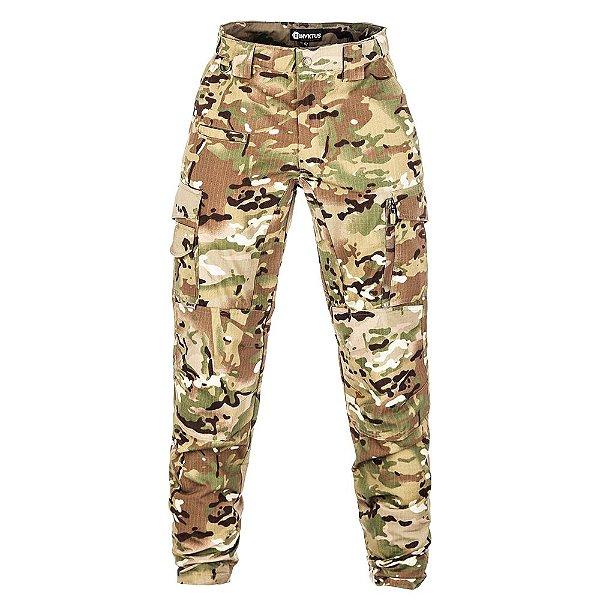Calça Militar Tática Guardian Camuflada Multicam Forcas Especiais Invictus