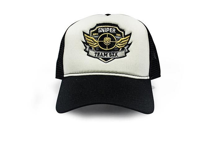 Boné Trucker Militar Sniper Team Six