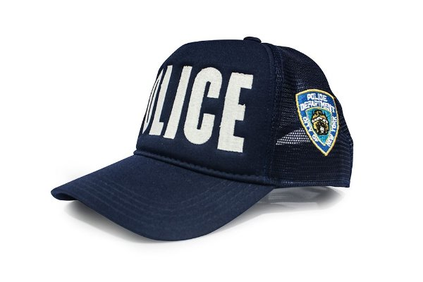 Boné Trucker Militar POLICE NYPD Team Six Exclusivo