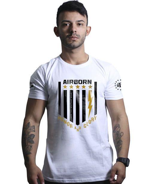 Camiseta Militar AirBorn Honor and Glory