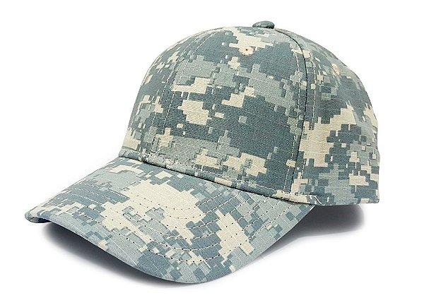 Boné Militar Camuflado Digital ACU