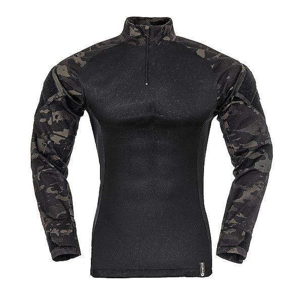 Combat Shirt Camuflado Multicam Black Raptor Invictus