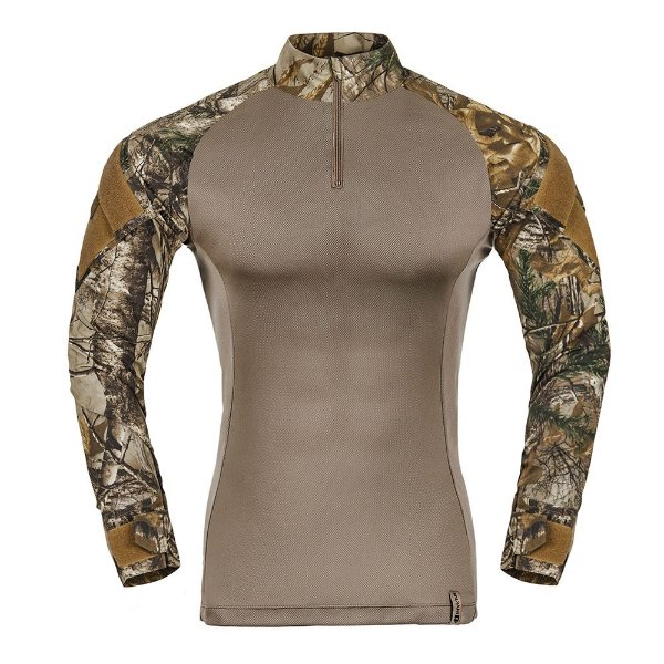 Combat Shirt Camuflado Realtree Raptor Invictus