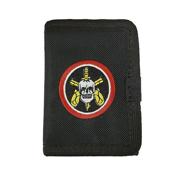 Carteira BOPE Com Velcro Bordada