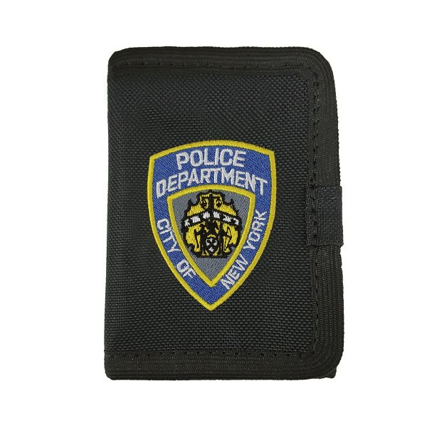 Carteira POLICE NYPD Com Velcro Bordada