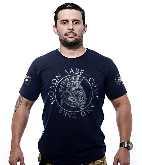 Camiseta Team Six Molon Labe Come and Take