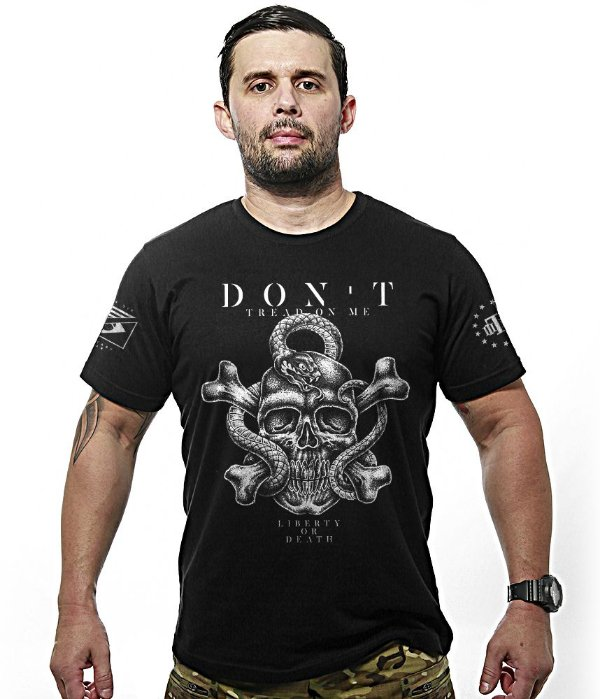 Camiseta Team Six Don't Tread On Me