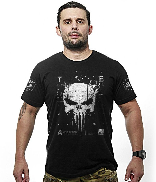 Camiseta Militar Team Six New Punisher