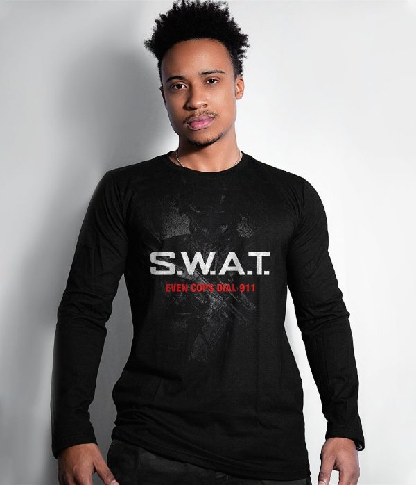 Camiseta Manga Longa SWAT Forças Especiais EUA