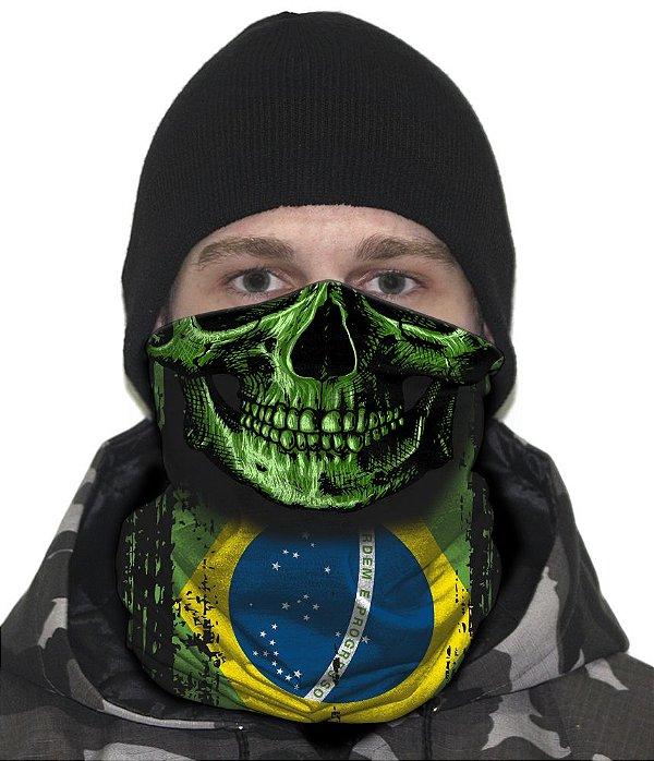 Face Armor Caveira Brasil Team Six
