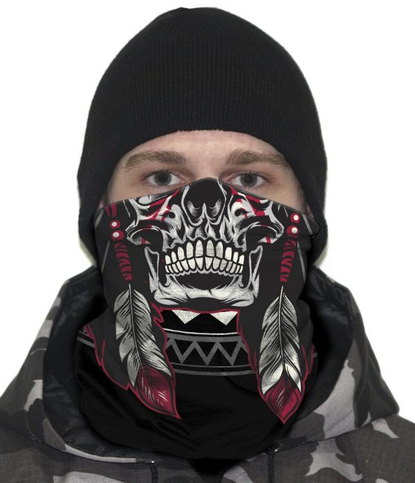 Face Armor Tribal Man Team Six
