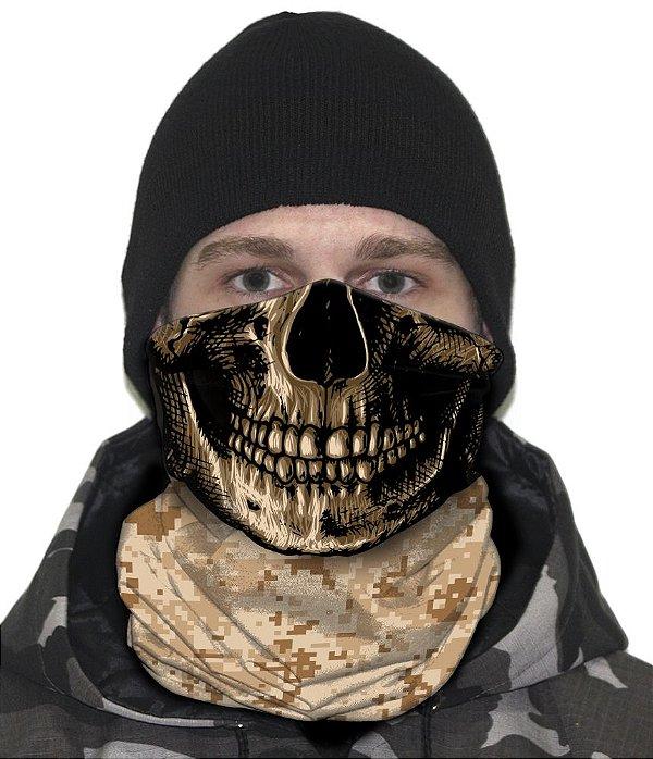 Face Armor Camuflado Digital Deserto
