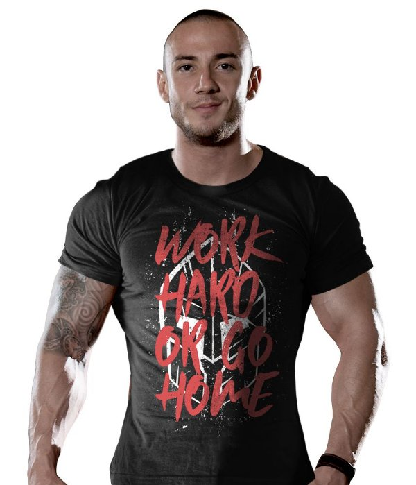 Camiseta Academia Work Hard Or Go Home