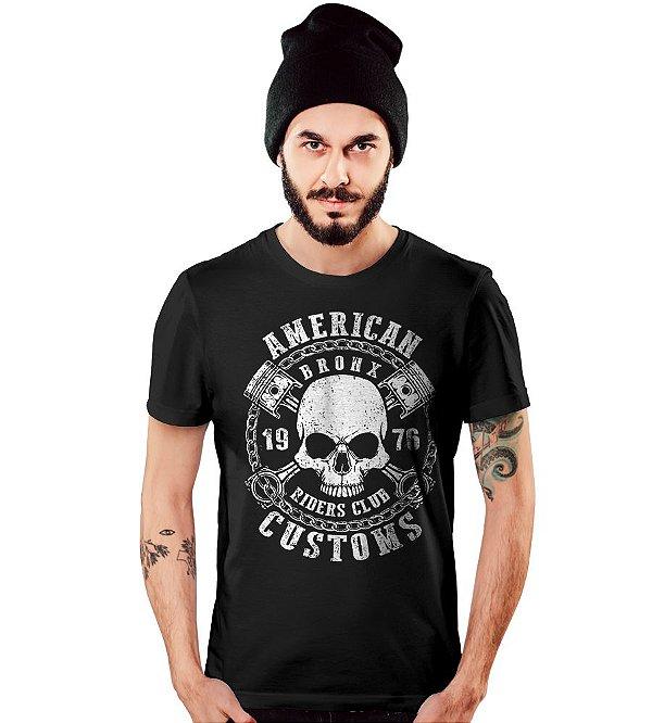 Camiseta Old Car American Skull