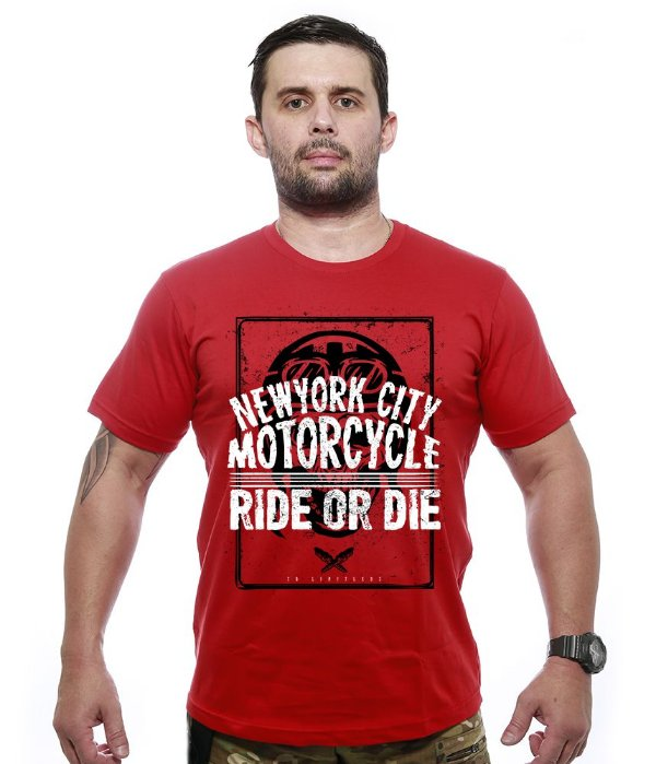 Camiseta Motorcycle new York City Ride Or Die
