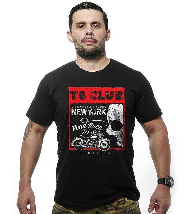 Camiseta Motorcycle T6 Club New York