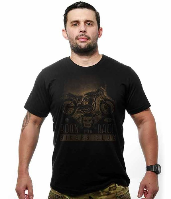 Camiseta Motorcycle T6 Old School Born to Race
