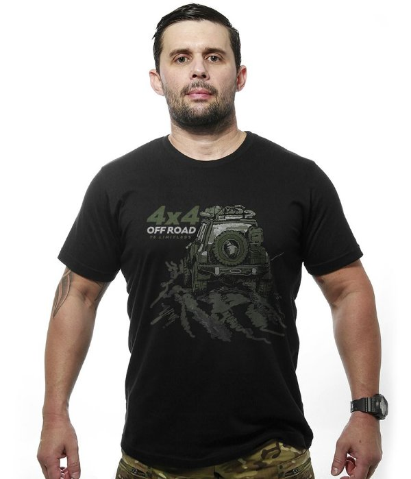 Camiseta 4x4 Off Road T6 Limitless