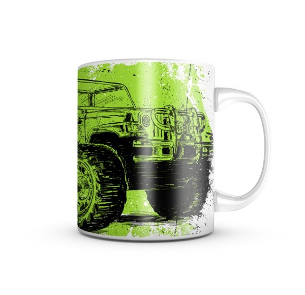 Caneca T6 Limitless 4x4 Off Road 325ML