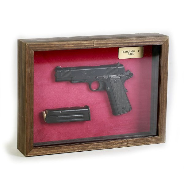 Quadro Retro Pistola MD2 .40 Imbel