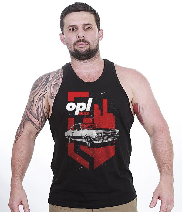 Camiseta Regata Old Cars Opala SS
