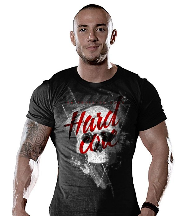 Camiseta Academia Hardcore T6 Training Corp