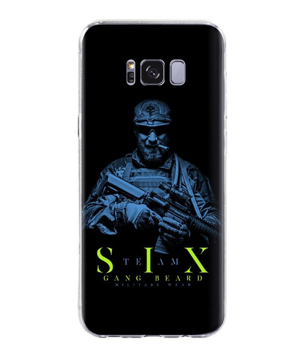 Capa para Celular Militar Beard Gang Team Six