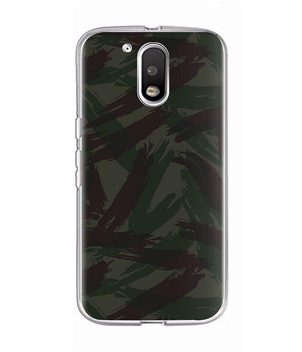 Capa para Celular Militar Camuflado Exército Brasileiro EB