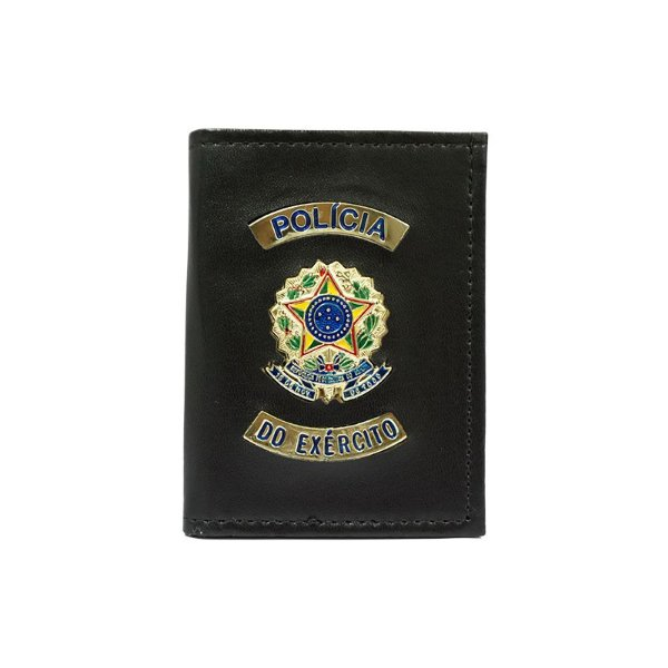 Carteira Polícia do Exército com Distintivo e Porta Funcional