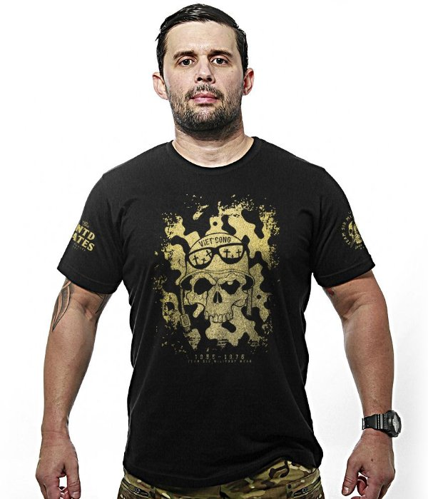 Camiseta Militar Vietcong Gold Line