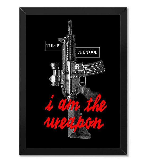 Poster Militar com Moldura This is the Tool