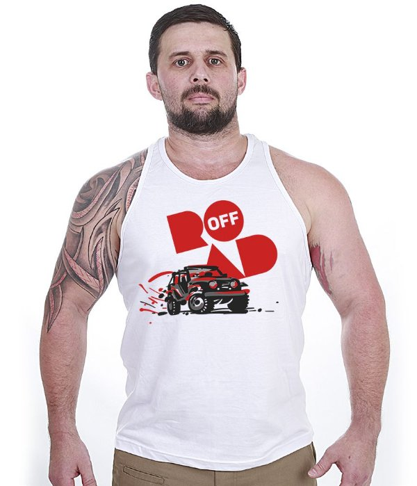 Camiseta Regata Off Road Fury
