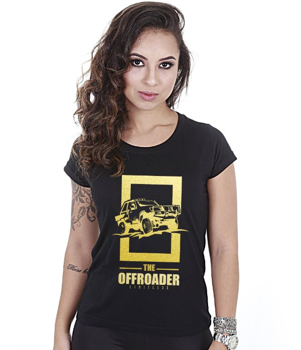 Camiseta Off Road Baby Look Feminina The Off Roader