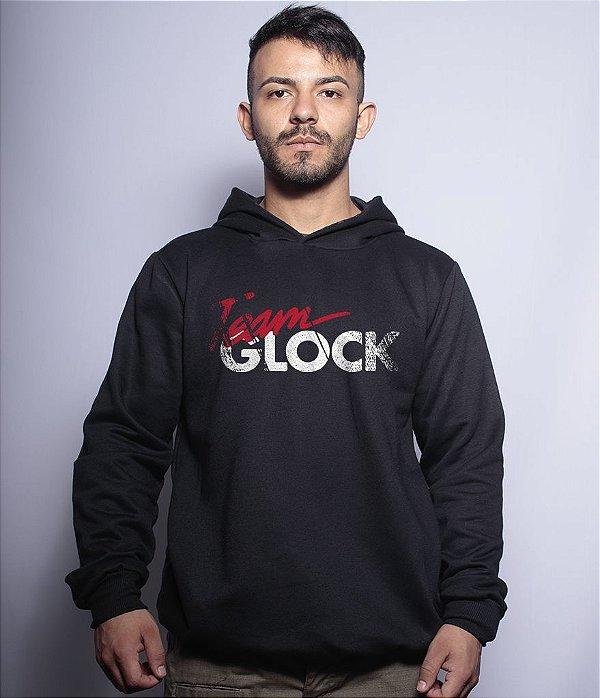 Casaco Militar Com Capuz Team Glock